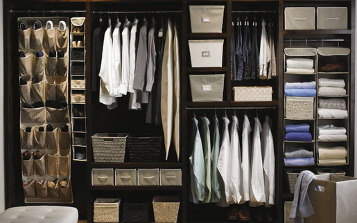Zone Your Closet. Most GHI Closets Seem To Be A Second Thought In The  Construction Of The Home, Are Tucked Into A Corner Of The Room With Angled  Walls, ...